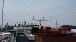 Mobile signal coverage for Cruise and vessel ship