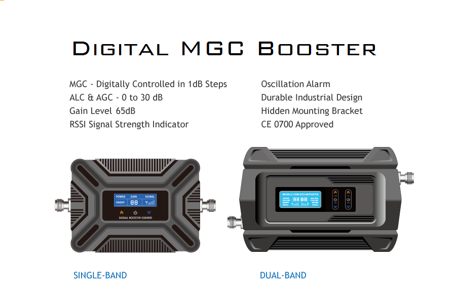 Experience Series Digital MGC Booster