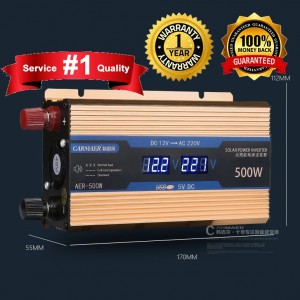 500W Inverter 1 year square