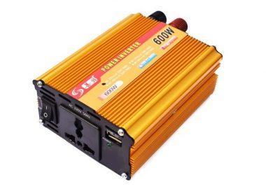 600W Power Inverter (12V DC to 220V AC Converter)