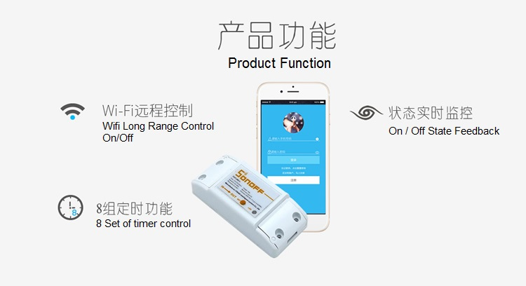 Smart Wifi Switch function