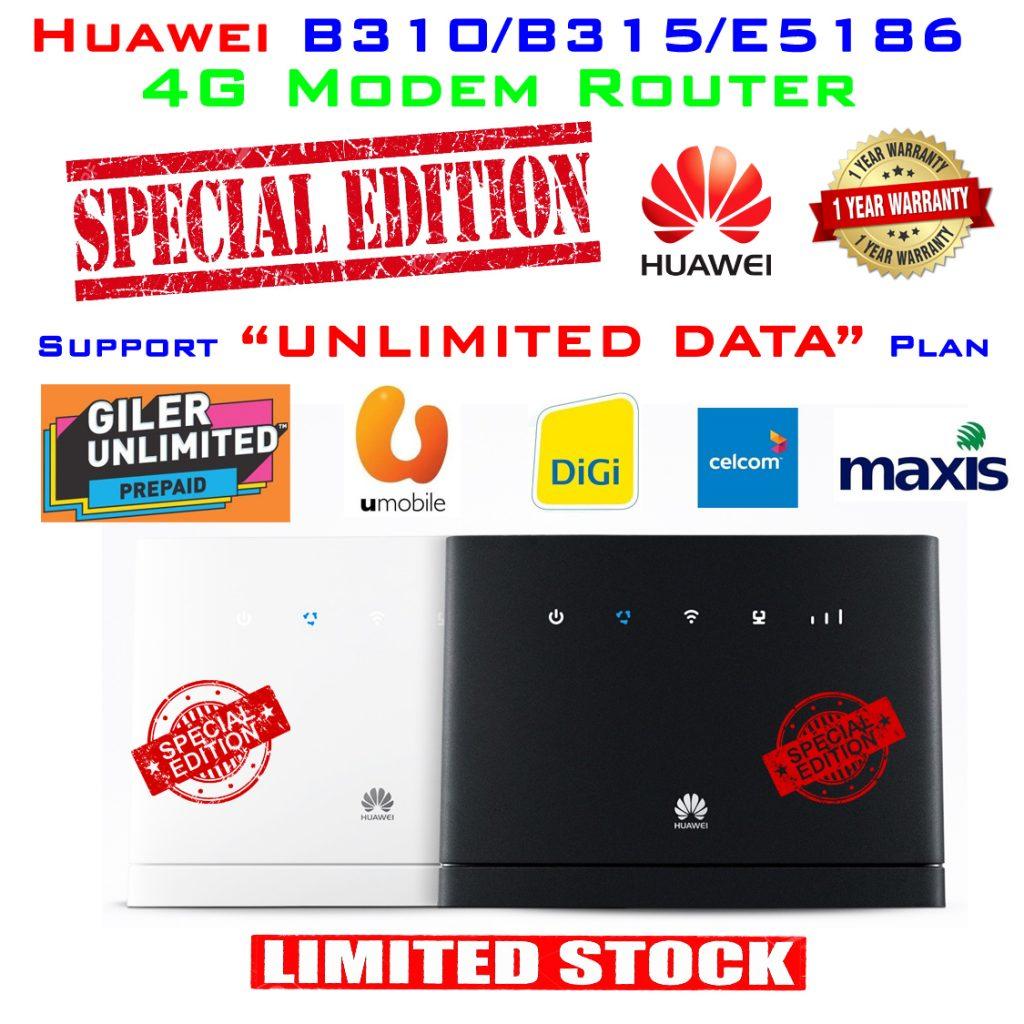 Huawei 4G Modem Special Edition 1 year warranty