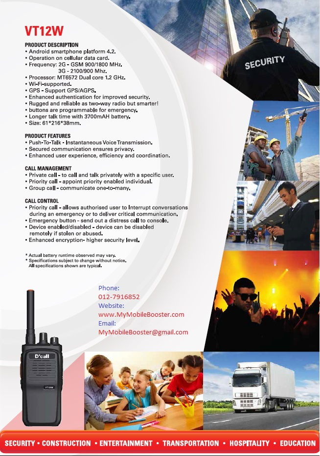 ip walkie talkie malaysia features