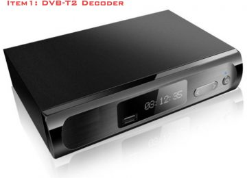 DVB-T2 HD MPEG4 1080P Satellite Receiver HD Digital TV Tuner Receiver