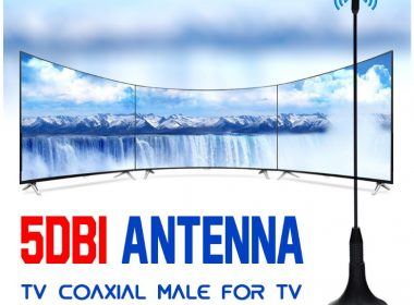 High Quality 1080P DVB-T TV HDTV Antenna Digital VHF UHF 50 miles  5dBi Antenna