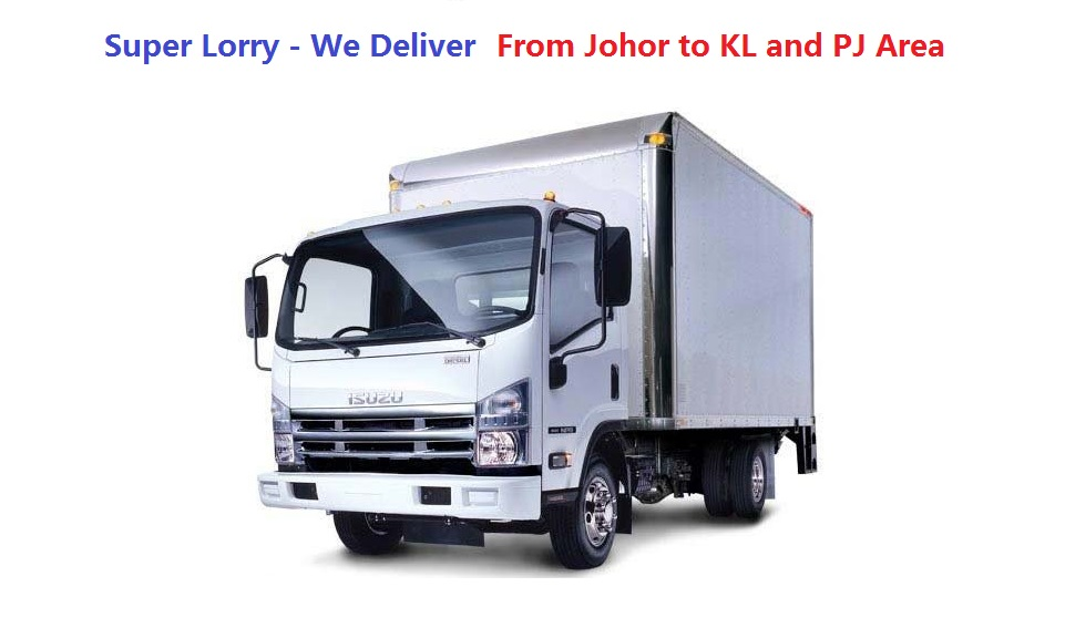 door to door lorry transport from johor to kl and pj