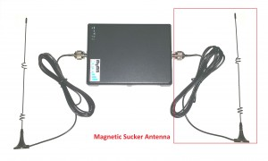 Magnetic Sucker Antenna