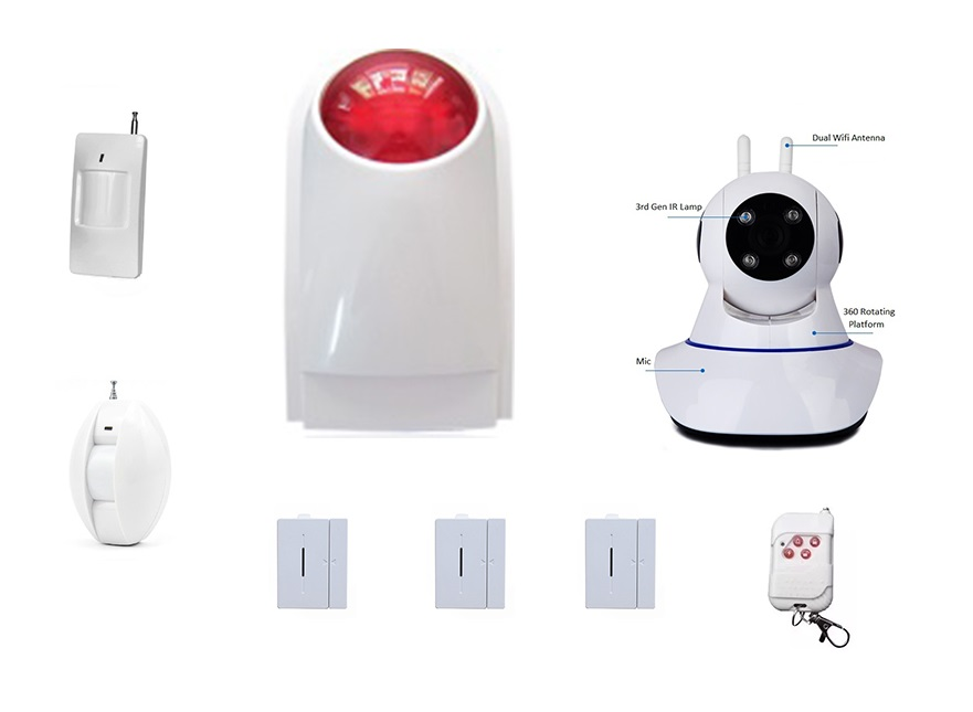 MyMB Smart Home Alarm Security System - Experience Package