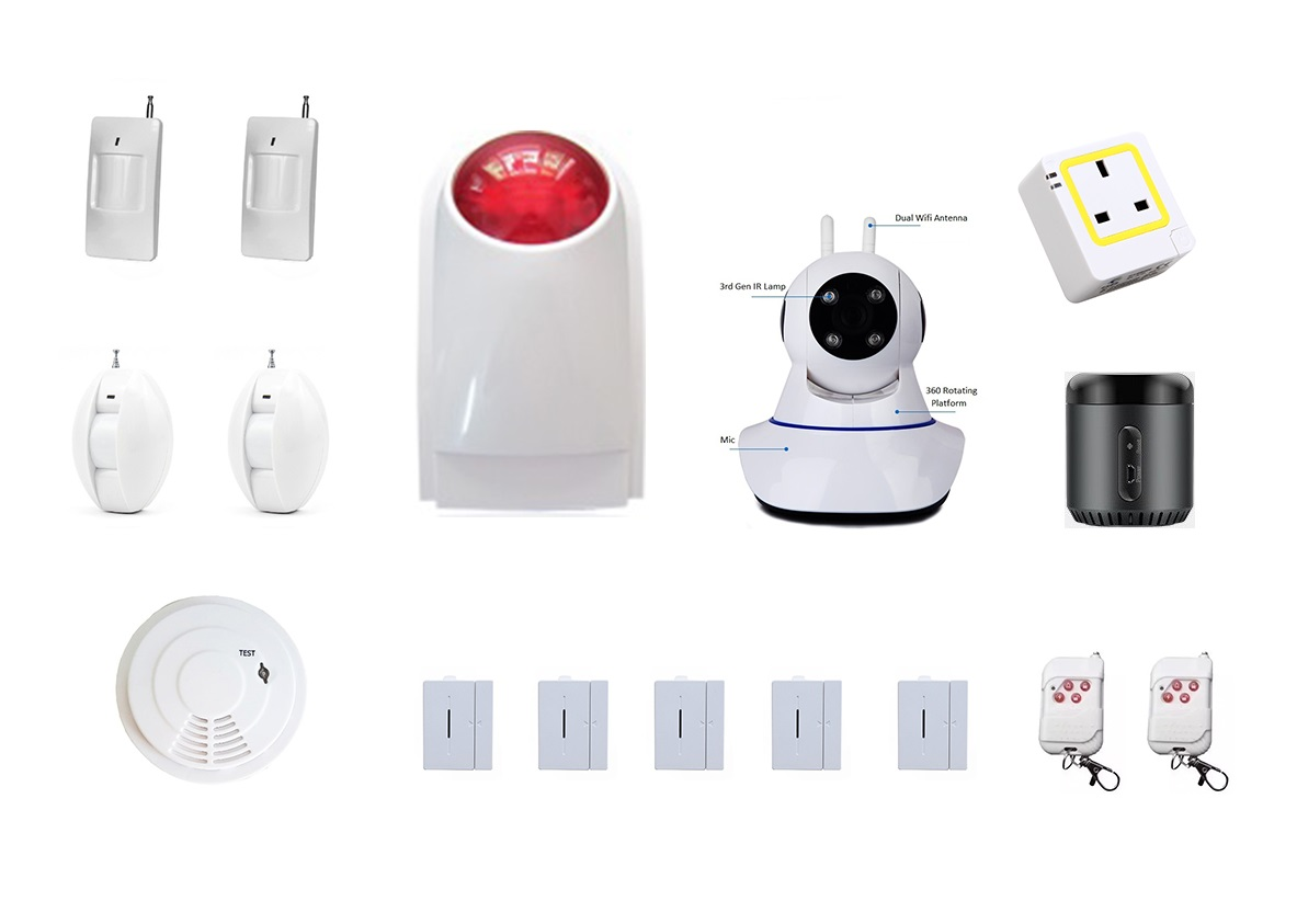 MyMB Smart Home Alarm Security System - Extreme Package
