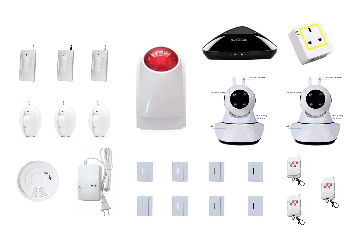 MyMB Smart Home Alarm Security System - Ultimate Package