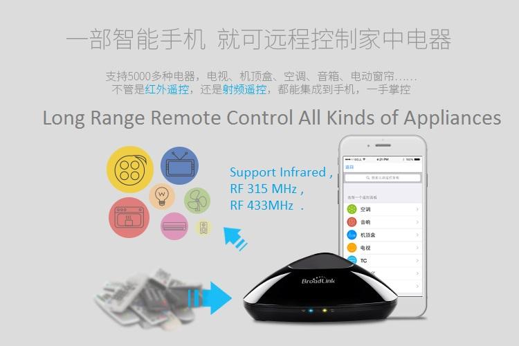 MyMB Smart Home Wifi Universal IR - RF 315MHz - RF 433MHz Remote Control 2