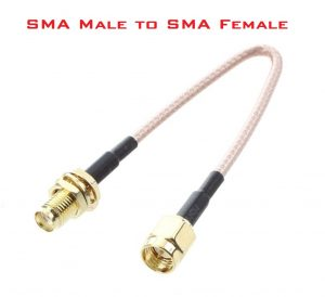 SMA Male to SMA Female Adapter converter cable for 4G router antenna