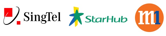 Receive Singapore network in Malaysia-Singtel, Starrhub, M1