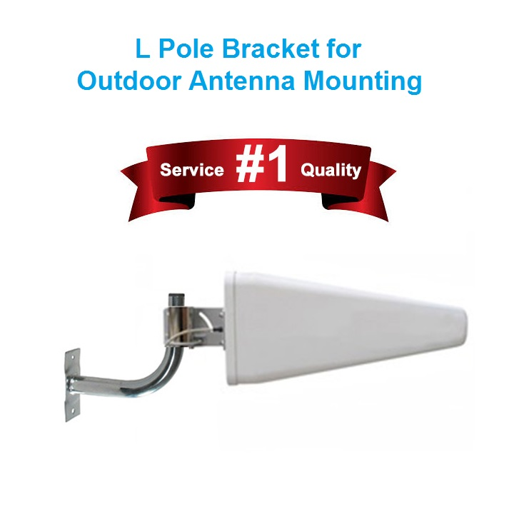 Wall mount_Pole Mount L Bracket to mount Outdoor Antenna Product