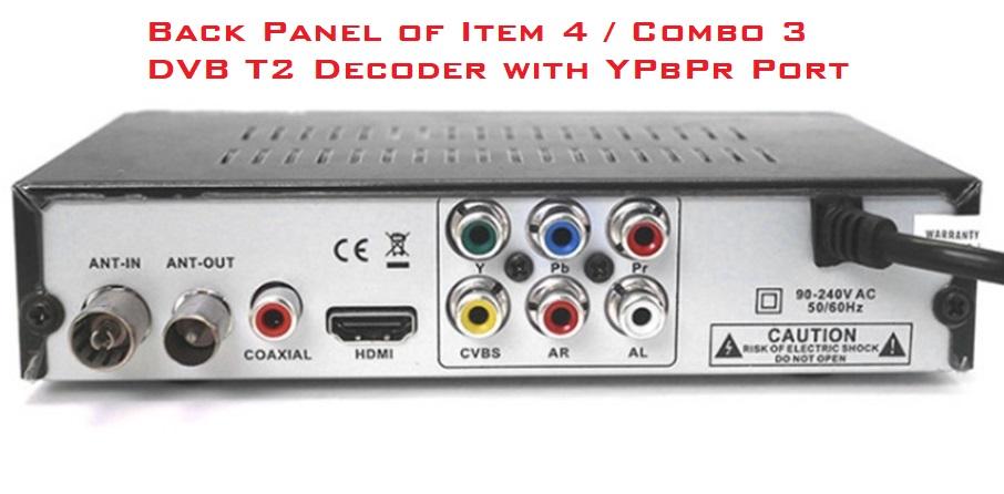 dvbt2 decoder back
