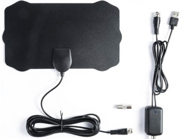 120 Miles Antenna 1080P Digital HDTV Indoor TV Antenna with Amplifier Signal Booster